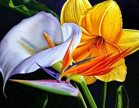 imagenes flores al oleo cuadros modernos pinturas y dibujos cuadros decorativos