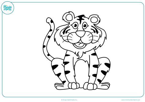 imagenes animales salvajes infantiles dibujos de animales de la selva para colorear mundo primaria