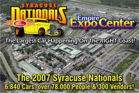 ny boat show syracuse syracuse nationals car happening fairgrounds finger