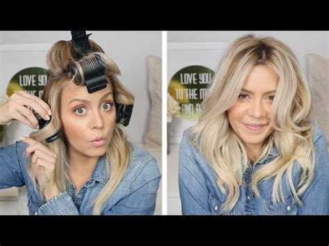how to section hair for hot rollers best 25 hot roller tips ideas on pinterest hot roller