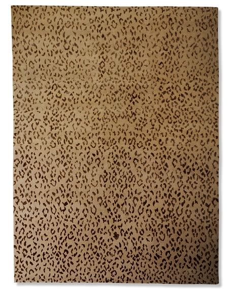 williams sonoma rugs suzanne kasler cheetah wool silk rug williams sonoma