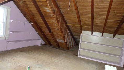 finishing out attic vapor barrier for finishing old