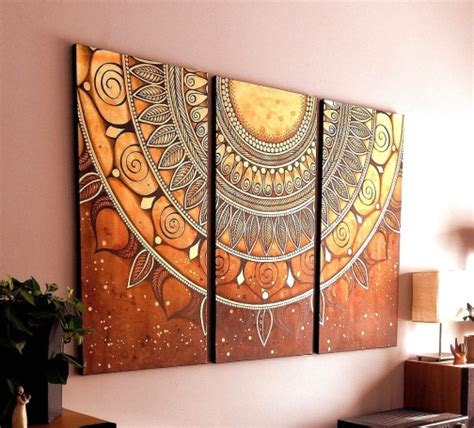 home decoration paintings dishfunctional designs magical mandalas mandalas in diy