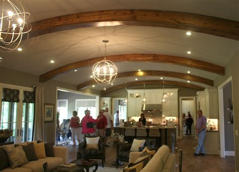 vaulted great room homearama house tour 5 the bella noelle model hooked