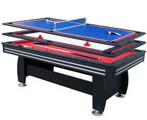 walker and 7ft gamesmaster 3 in 1 deluxe table