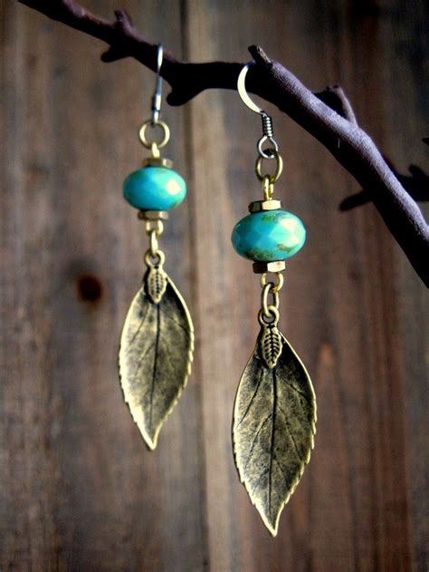 Make Handmade Earrings - 25 best ideas about handmade leather jewelry on