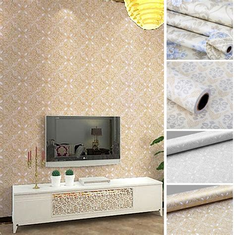 home decor wall paper flowers european modern self self adhesive wallpaper for lliving room home ୧ʕ ʔ୨ decor decor