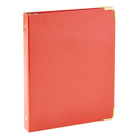 Souvenir Binder Small 3 orange mini three ring binder the container store