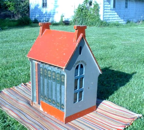 the read house my book house wooden house a anthology book old children s books