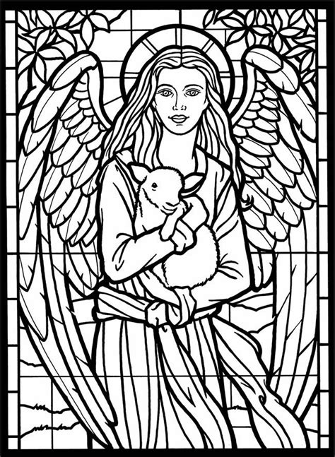 stained glass christmas coloring pages christmas stain glass coloring page coloring home