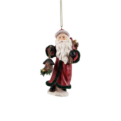 kris kringle santa christmas ornament