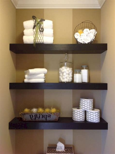 bathroom floating shelves decorating ideas 6 � 24 spaces
