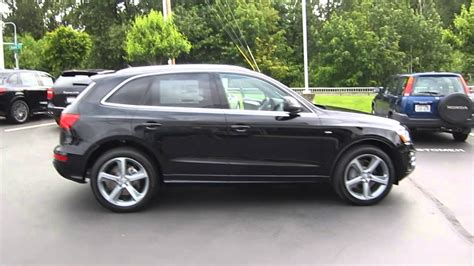 Audi Q5 Schwarz by 2013 Audi Q5 Brilliant Black Stock 109240 Youtube