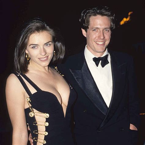 hugh grant best liz hurley shares throwback picture of herself and hugh