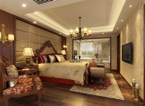 european and chinese style luxury bedroom interior design 2013欧式风格主卧室吊顶装修效果图 土巴兔装修效果图