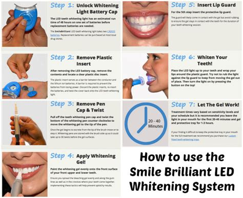 Smile Brilliant Led Teeth Whitening Review Bay Area Mommy How To Use Led Lights