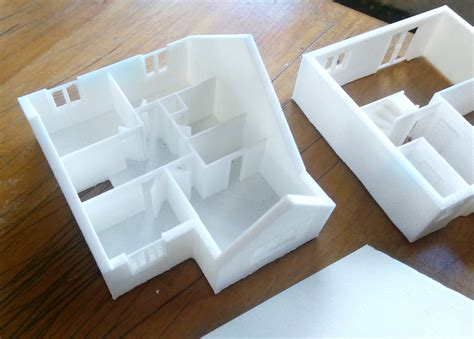 3d printing house plans 3d printed miniature house project ard digital
