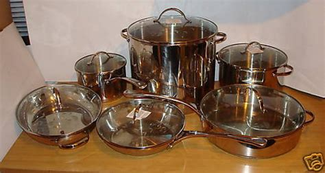 princess house pots princess house pots new princess house stainless cookware set 6599 ebay