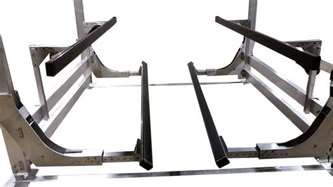 boat lift guide rails raptor lifts shallow water boat lifts accessories