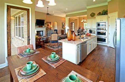 open kitchen dining room floor plans cuisine ouverte la rendre encore plus et