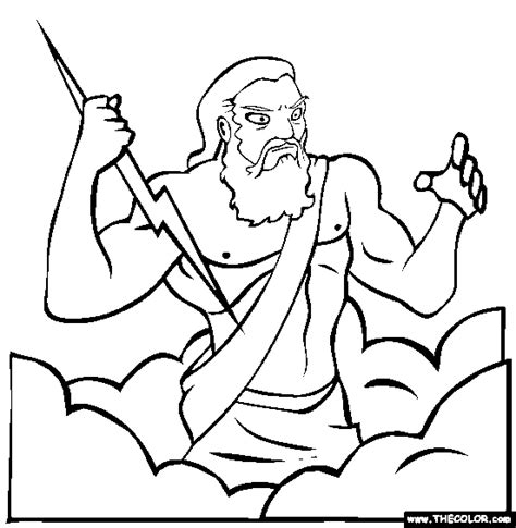 printable coloring pages of zeus zeus coloring page free zeus online coloring