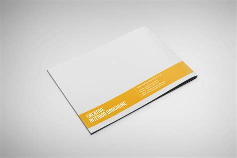 12 Page Brochure Template interior landscape brochure template on behance best and