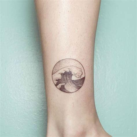 wave tattoo small 20 powerful wave tattoos