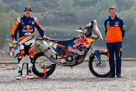 Toby Price Ktm Bull Ktm Rally Factory Racing Team Ist Ready To Race
