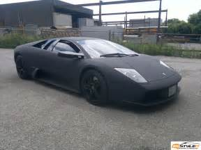 Matte Black by Matte Black Murcielago Wrapped In Canada Autoevolution