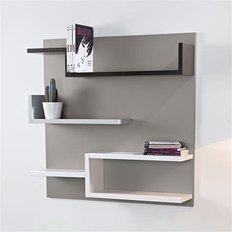 etagere novel 201 tag 232 re murale design taupe 100 x 100 cm myshelf