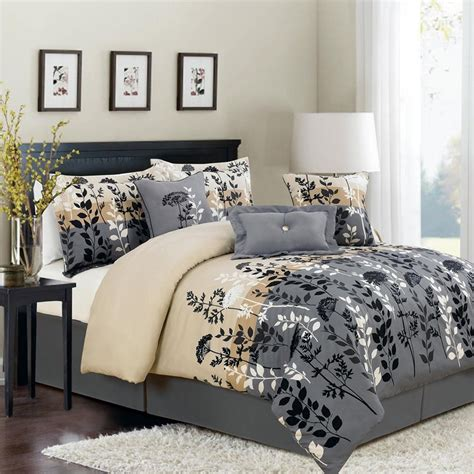 white comforter sets full size stunning full size bed sheets with dark grey and brown
