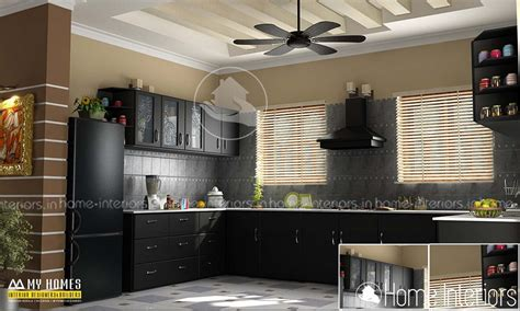 modern and unique dining kitchen interior kerala home amazing contemporary home kitchen dining interior design