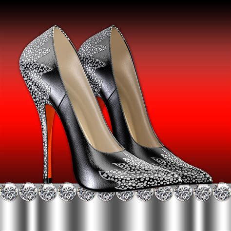 high heel shoe paintings high heel shoes digital by legend imaging