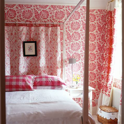 red wallpaper bedroom ideas bedroom wallpaper ideas ideal home