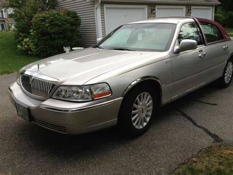 auto air conditioning service 2003 lincoln town car instrument cluster sell used 2003 lincoln town car presidential elegant platinum body cranberry top 44k miles in