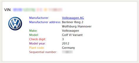 diy volkswagen option codes vin decoding vw gti mkvi forum vw golf r forum vw golf mkvi