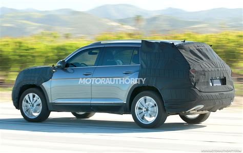 2017 Volkswagen 3 Row Suv Spy Shots