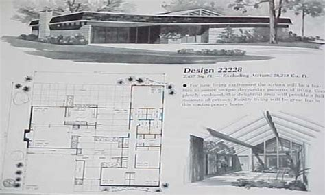 modern architecture floor plans atomic ranch house plans mid century modern ranch house