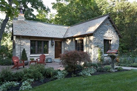 small stone house plans fox hollow a new cottage built from antique materials