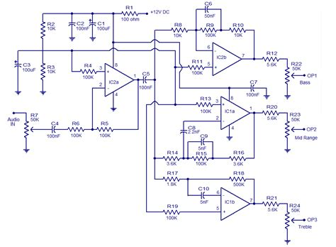 crossover diagram circuit 4 way speaker crossover schematic get free image about