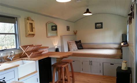 pictures of small homes interior 20141206sa shepherds hut wagon retreat tiny house interior exle 001 small house society