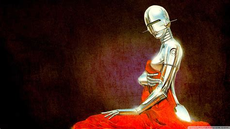 classic robot wallpaper download robot vintage illustration wallpaper 1920x1080