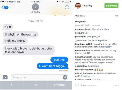 why is lil yachty called lil boat soulja boy fights lil yachty as he exposes india love on
