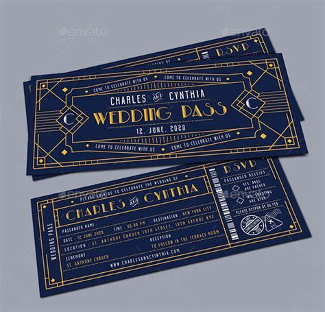 concert invitation card template 29 deco wedding invitations free premium