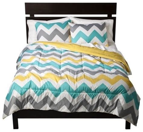 target bed covers room essentials chevron comforter white modern