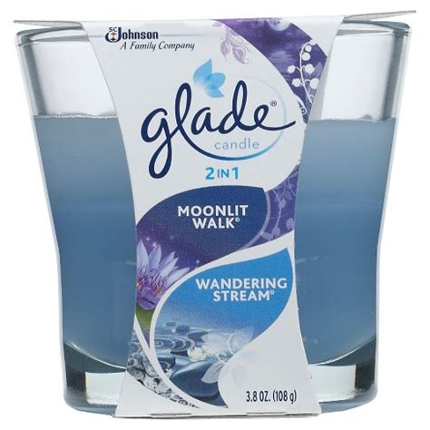 Glade One For All Escape 70g glade jar candle air freshener blue odyssey 3 4oz target