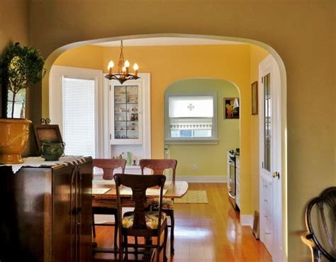 arch between kitchen and living room bringing the arched doorways back my sweet cottage