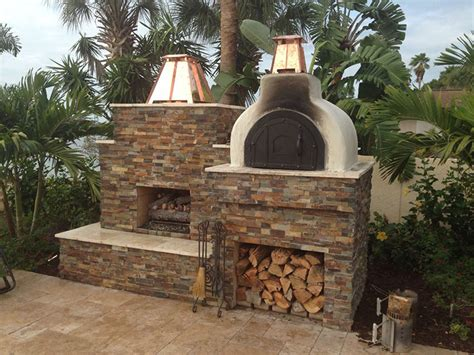 brickwood ovens mystery fireplace and pizza oven