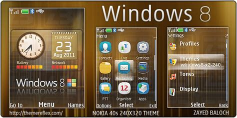 themes nokia x2 02 windows 8 windows 8 theme for nokia x2 240 215 320 themereflex
