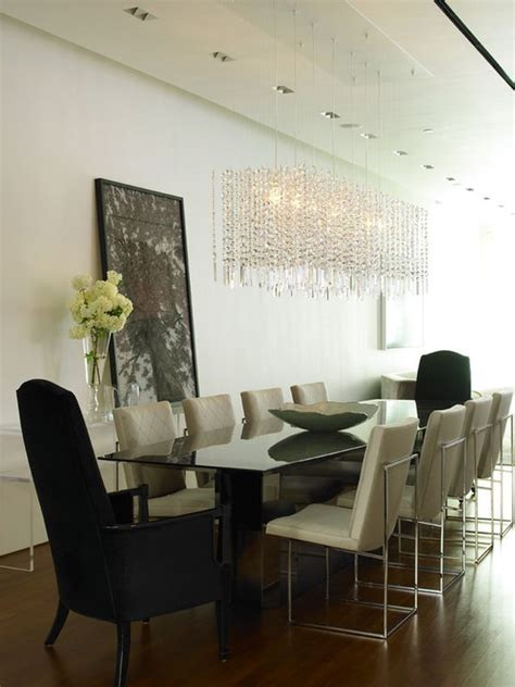 The Dining Room At The Modern Shoes On The Ceiling The Importance Of The Right Chandelier